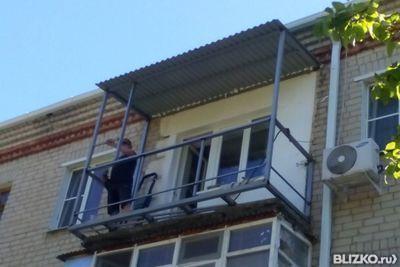 Балкон с выносом 3-метровый от компании топ-строй купить в г.