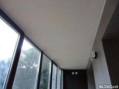 Натяжной потолок на балконе: нюансы установления ремонт свои.