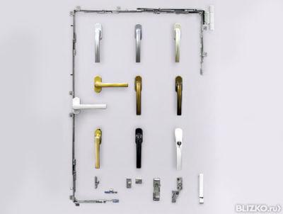 Установка ручки двухсторонней на дверь от компании окна рост.