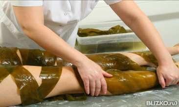 Рецепт водорослевого обертывания в домашних условиях
