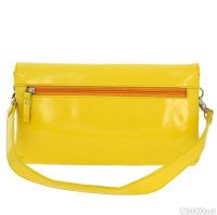 b1066fd0e2a0 Клатч женский Versado из натуральной кожи желтый (VG202 yellow)