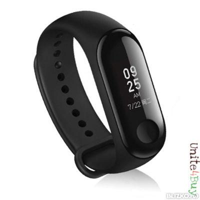 Водонепроницаемый фитнес-браслет Xiaomi SmartBand 3 (синий по выгодной цене..