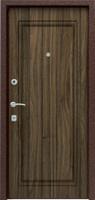 Входная металлическая дверь Эталон с фрезеровкой 860*2050