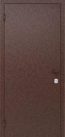 Техническая дверь УНИВЕРСАЛ (одностворчатая, металл/металл) 860*2050