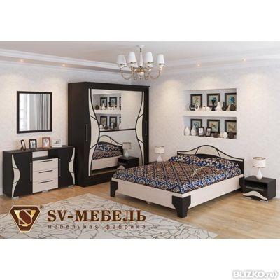 спальный гарнитур лагуна 5 Sv мебель от компании мебель по карману